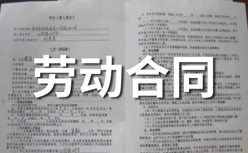 【热门】劳务合同范本范文集锦八篇