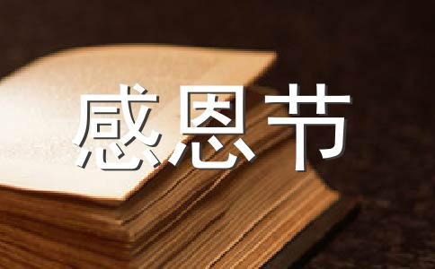【实用】感恩节 活动范文(精选九篇)