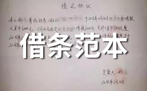 【荐】民间借贷范文六篇