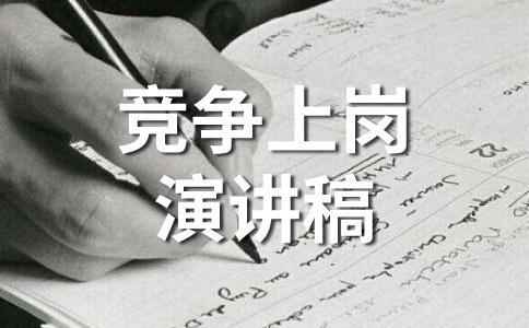 【热】竞聘范文集锦九篇